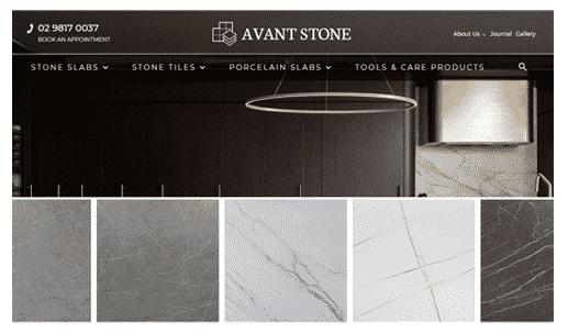 Avant Stone Website Success Stories